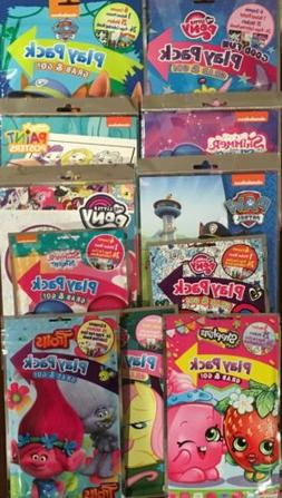 Girl Art Lot Coloring Sticker Magic Paint Posters MLP Shimme