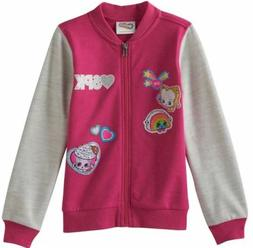 Shopkins Girl's Bomber Jacket --  Size 5