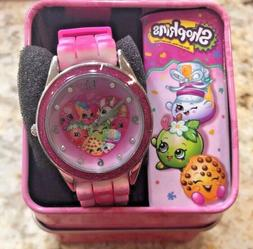 Shopkins Girl's Pink Watch with Pink band