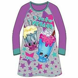 Girls Shopkins Whats Shakin Nightgown Pajamas