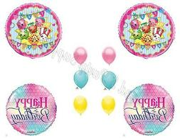 Girly SHOPKINS Birthday Balloons Decoration Supplies Party S
