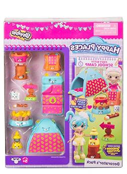 Happy Places Shopkins Cozy Kitty School Camp Decorator's Pac