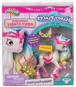Shopkins Happy Places Cutiecorn Pampered Pony Stable Pony Pa