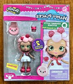 Shopkins Happy Places Gourmet Kitty Kitchen Berribelle~Free