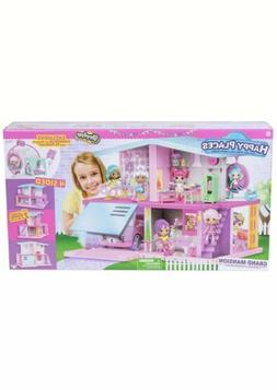 Shopkins Happy Places Grand Mansion Doll House Playset Petki