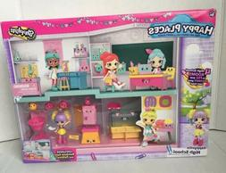 Shopkins Happy Places Happyville High School Playset Exclusi