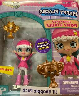 SHOPKINS Happy Places Pampered Pony Stable & Royal Prancer P