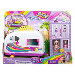 Shopkins Happy Places Rainbow Beach Camper Van Girls Playset