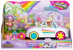 Shopkins Happy Places Rainbow Beach Convertible w/ Exclusive