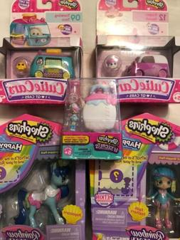 Shopkins Happy Places Rainbow Beach Cutie Cars & Lil Secrets