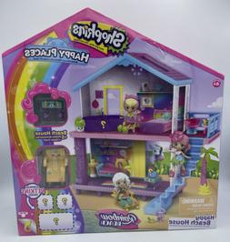 Shopkins Happy Places Rainbow Beach House Playset With Surpr
