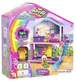 SHOPKINS Happy PLACES Rainbow BEACH House PLAYSET Girls TOY