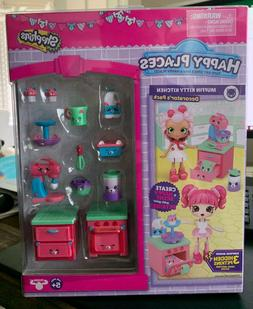 Shopkins Happy Places Season 3 Decorator Pack - Muffin Kitty
