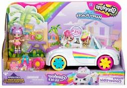 Shopkins Happy Places S5 Rainbow Beach Convertible Car Plays