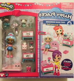 Shopkins Happy Places Season 3 Welcome Pack Cozy Bear Bedroo