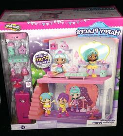 SHOPKINS HAPPY PLACES HAPPYVILLE HIGH SCHOOL PROM BRAND NEW