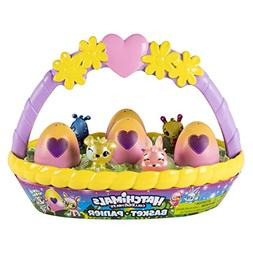 Hatchimals CollEGGtibles – Spring Easter Basket with 6 Hat