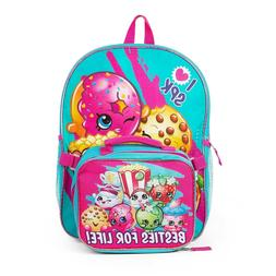 "I Love SPK ShopKins 16"" Large School Backpack with Detachabl"