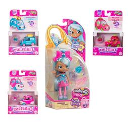 Shopkins JASCENTA - SHOP STYLE SHOPPIES DOLL with 3 CUTIE CA