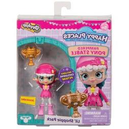 """Jessicake Pampered Pony Stable Shopkins Happy Places Doll 3"""""""