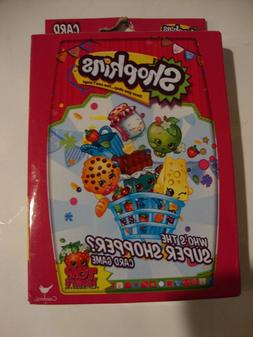 Shopkins Jumbo Playing Cards and Who's the Super Shopper Car