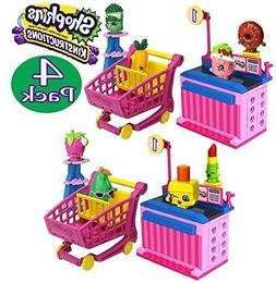 Shopkins Kinstructions Shopping Cart Style 1 & 2 and Checkou