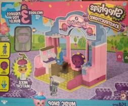 Shopkins Kinstructions Shopping Pack Building Set - Music Sh