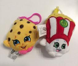 shopkins kooky cookie chocolate chip plush keychain poppy co