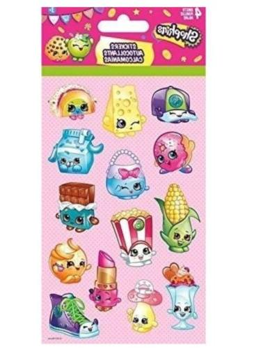 10 x shopkins sticker set packs 40