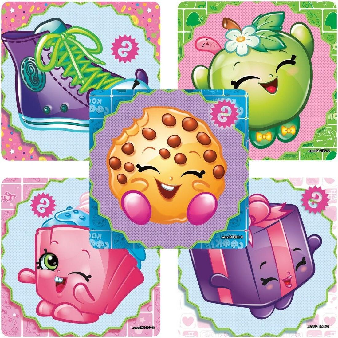 20 shopkins stickers party favors supplies birthday