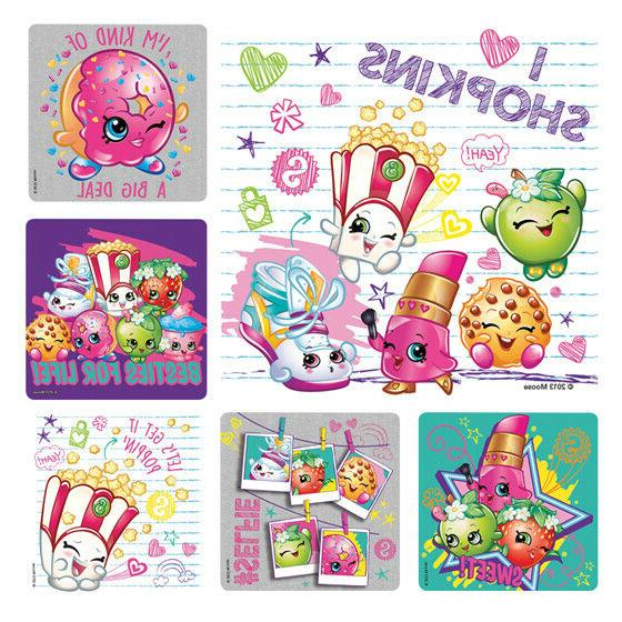 25 stickers party favors teacher supply food