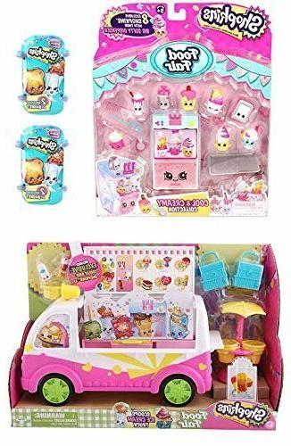 Bundle Items: Scoops Ice Cream Truck, Cool Creamy Playset, and