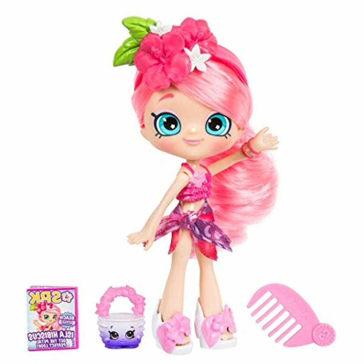 5 shoppie doll with matching shopkin accessories