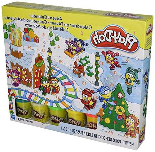 Play-Doh - B21999 - Modeling Compound Toy - Xmas Advent Cale