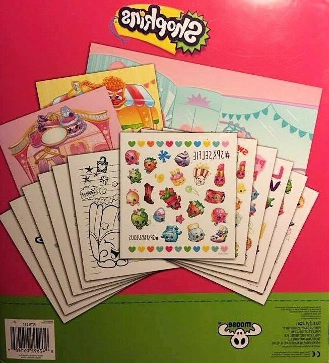Shopkins Grab and Go Sticker Book Sticker Kids