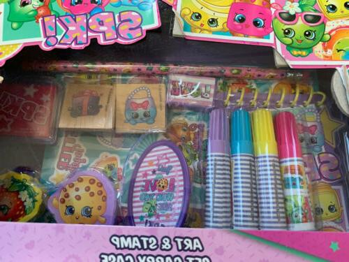 Shopkins Set Stampers Stickers