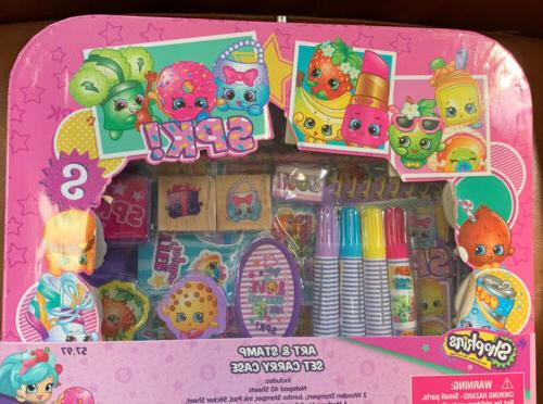 Shopkins Set Case Stampers Stickers