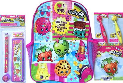 backpack with 5 pack stationary set 2