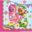 SHOPKINS BEVERAGE Dessert NAPKINS Birthday Party Supplies Bu