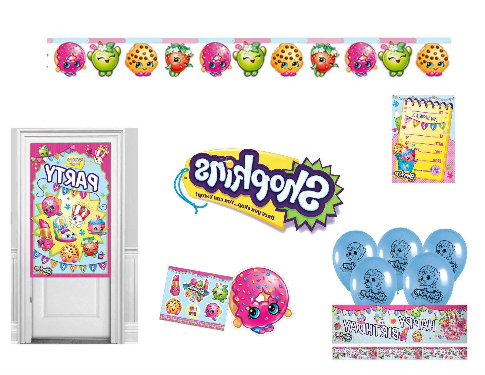 birthday party decorations tableware balloons loot etc