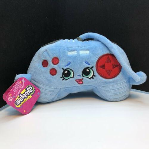 connie console blue video game controller stuffed