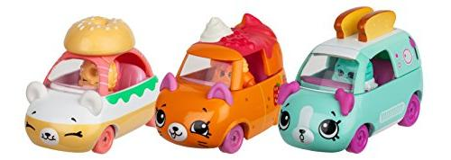 Cutie Cars Shopkins Three Pack - Collection