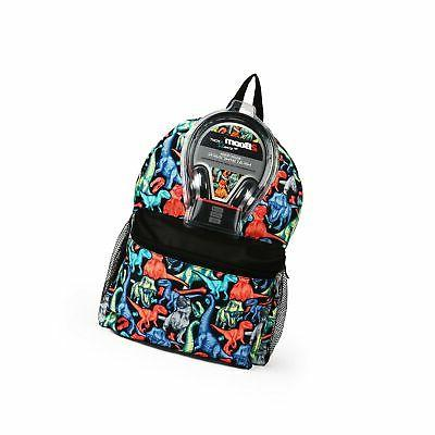 dino print backpack
