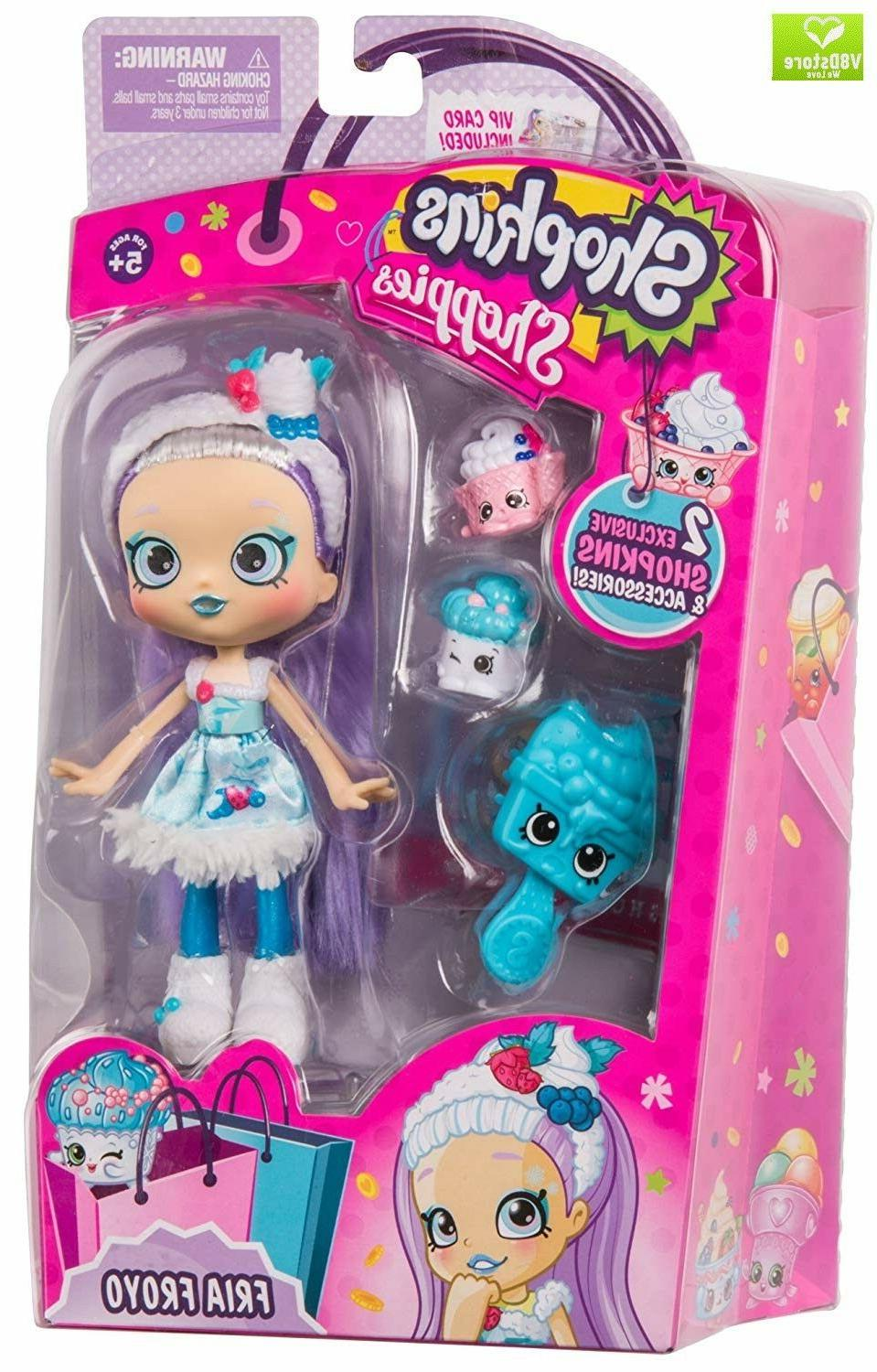 Fria Shopkins Doll Single Accesories Kids Play