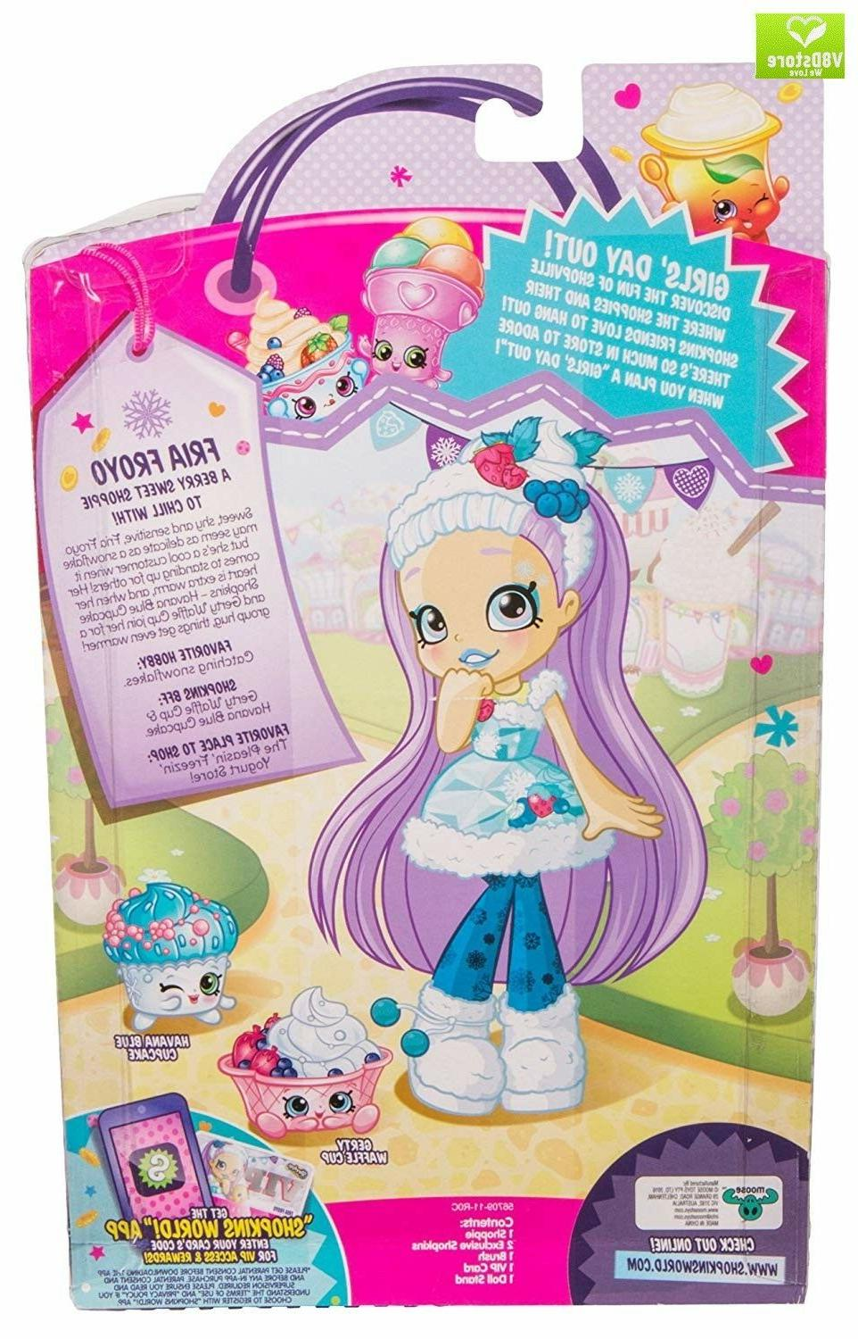 Fria Froyo Shopkins Doll Single Pack Accesories Play