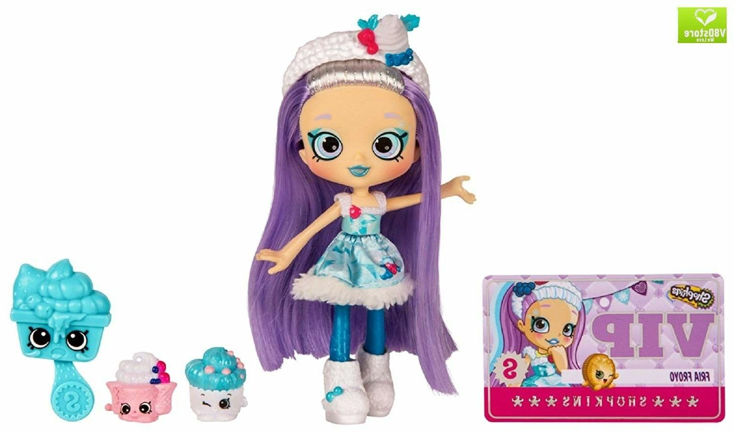 fria froyo shoppies doll single pack
