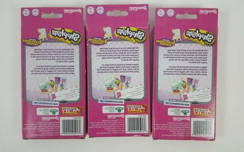 Girl Postcard Card 1 Exclusive Shopkins of 3