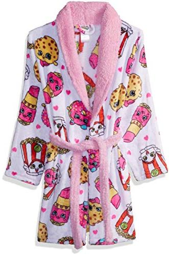 girls little original collection luxe plush robe