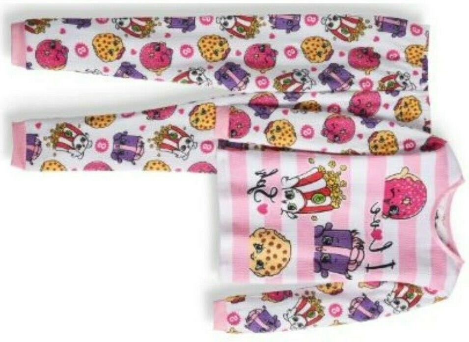 Shopkins thermal underwear Size 6 -
