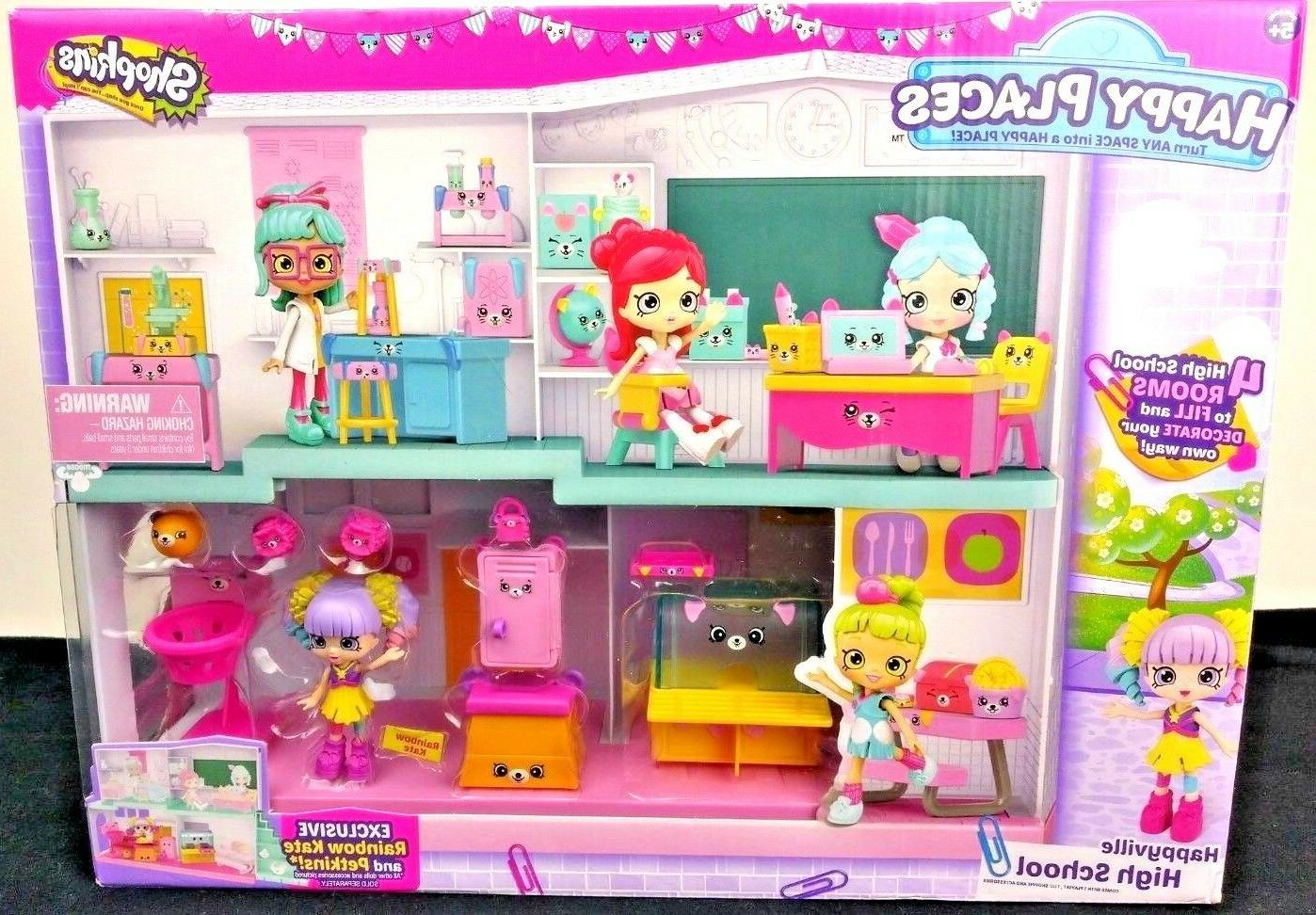 happy places happyville toy high school playset